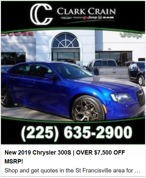 New 2019 Chrysler 300S