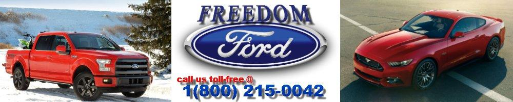 Freedom Ford car dealership in Ebensburg, PA.