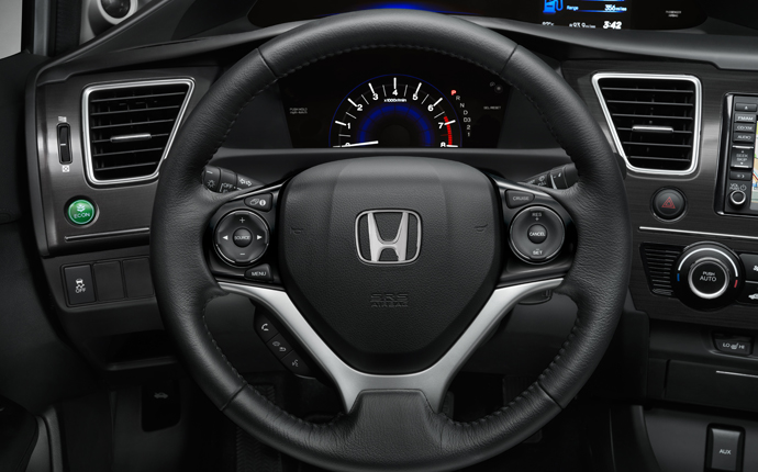 steering wheel 2013 civic
