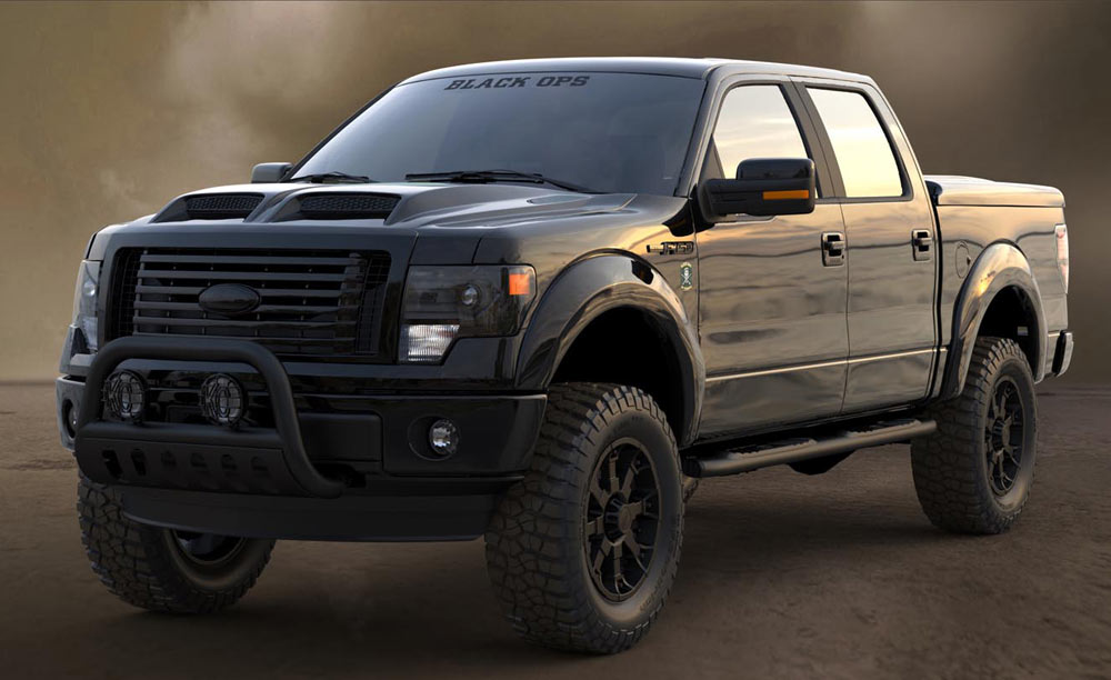 F 150 Black Ops Edition   Autos Post